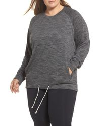 Zella | Draw Em In Pullover | Lyst