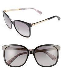 Kate Spade | Mackenzee 57mm Sunglasses | Lyst