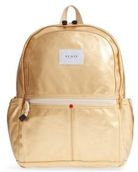 State Bags | Downtown Kane Backpack - Metallic | Lyst
