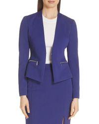 BOSS - Jeboa Twill Jersey Suit Jacket - Lyst