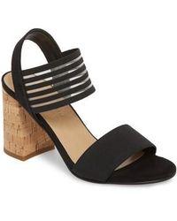 Bella Vita - Dan Block Heel Sandal - Lyst