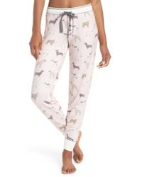 Pj Salvage - Banded Lounge Pants - Lyst