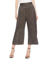 Parker - Ellen Wide Leg Crop Pants - Lyst