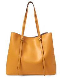 Polo Ralph Lauren - Lennox Leather Tote - Lyst