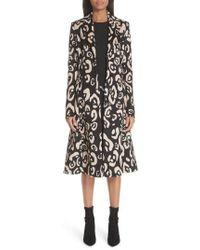 Altuzarra - Driss Leopard Print Wool Blend Coat - Lyst