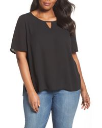 Sejour - Curved High/low Top - Lyst