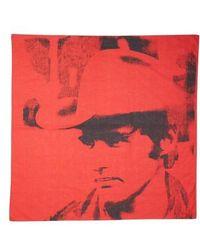 CALVIN KLEIN 205W39NYC - X Andy Warhol Foundation Dennis Hopper Scarf - Lyst