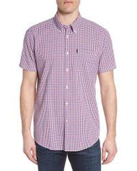 Barbour - Taylor Regular Fit Check Short Sleeve Sport Shirt - Lyst