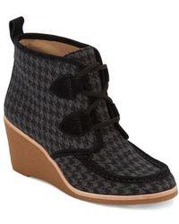 G.H.BASS - . Womens Rosa Dress Wedge Heel Boot - Lyst