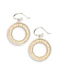 Anna Beck - Open Circle Drop Earrings - Lyst