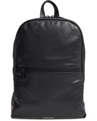 Common Projects - Soft Leather Backpack - Lyst