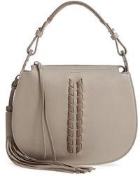 AllSaints - Kepi Leather Crossbody Bag - Lyst