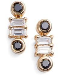 Dana Rebecca | Sadie Stud Earrings | Lyst