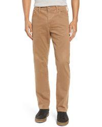 AG Jeans - Everett Sud Print Slim Straight Leg Pants - Lyst