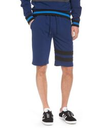 Calvin Klein Jeans - Stripe Athletic Shorts - Lyst