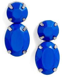 Adia Kibur Super Bright Stone Earrings