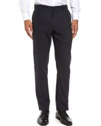 Zachary Prell - Rushmore Pinstripe Stretch Wool Blend Trousers - Lyst
