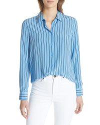 Equipment - Essential Stripe Shirt - Lyst