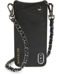 Bandolier - Lucy Faux Leather Iphone X/xs Crossbody Case - - Lyst