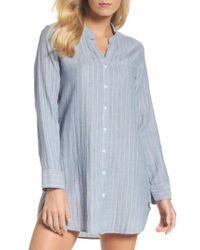 UGG - Ugg Vivian Stripe Sleep Shirt - Lyst