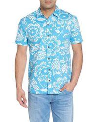Kahala - Duke's Pareo Trim Fit Sport Shirt - Lyst