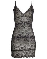Samantha Chang - Lace Chemise - Lyst