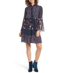 Juicy Couture | Caprice Floral Mix Shirtdress | Lyst