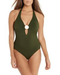 Miraclesuit | Laura Mars Bianca One-piece Swimsuit | Lyst