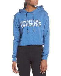 Spiritual Gangster - Varsity Hoodie Sweatshirt - Lyst