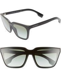 e4fd3178ba5 Burberry - 40mm Square Sunglasses - Lyst
