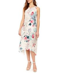 Wallis - Wonderland Hanky Hem Floral Dress - Lyst