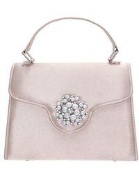 Nina - Imitation Pearl Ornament Lady Bag - Lyst
