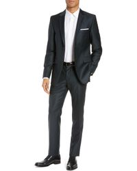 Tiger Of Sweden - Slim Fit Solid Wool Suit - Lyst