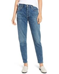 Citizens of Humanity - Liya High Waist Boyfriend Jeans - Lyst