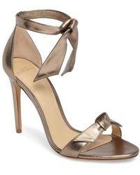 Alexandre Birman - Clarita Ankle Tie Sandal - Lyst