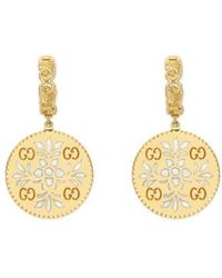 Gucci | Icon Blooms Drop Earrings | Lyst