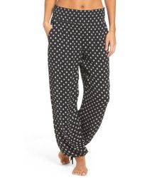 Tory Burch - Fin Print Cover-up Pants - Lyst