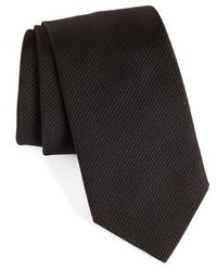 David Donahue - Stripe Silk Tie - Lyst