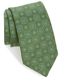 David Donahue   Medallion Silk Tie   Lyst