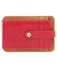 Hobo - Access Bifold Leather Card Case - Lyst