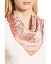 Rebecca Minkoff - Ornament Paisley Silk Bandana - Lyst