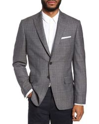 Moods Of Norway | Gryning Trim Fit Plaid Wool Blend Sport Coat | Lyst
