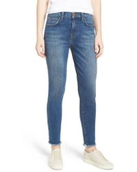 Current/Elliott - The Stiletto High Waist Skinny Jeans - Lyst