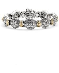Konstantino - 'silver & Gold Classics' Link Bracelet - Lyst