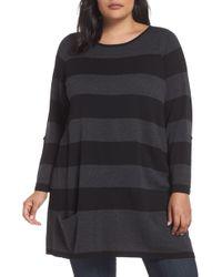 Caslon - Caslon Roll Sleeve Tunic Sweater - Lyst