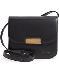 Victoria Beckham - Eva Calfskin Leather Crossbody Bag - - Lyst