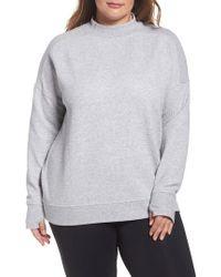 Zella - Textured Sweatshirt - Lyst