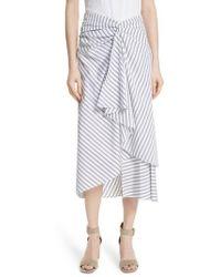 A.L.C. - Diller Ruffle Front Skirt - Lyst