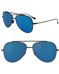 Vuarnet - Swing 58mm Polarized Aviator Sunglasses - Lyst