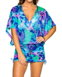 Luli Fama - Cabana Cover-up Dress - Lyst